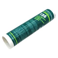 陶熙(DOWSIL) 道康宁736耐高温有机硅密封胶,300m/支,红色 ,12支/箱;736 HEAT RESISTANT SEALANT