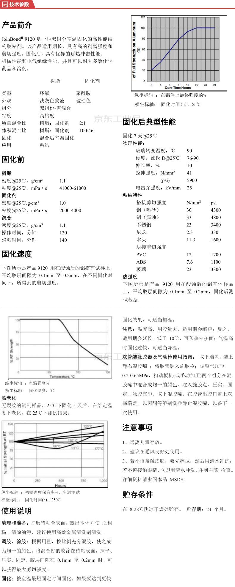 九邦 双组份结构胶,50ml/支,10支/盒;9120