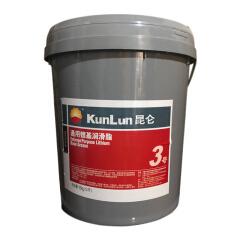 昆仑 通用锂基润滑脂(15kg);3# 15kg