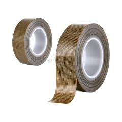 惠象 中性 铁氟龙高温胶带(棕色)25mm*10m*0.13mm,100卷/箱;HXTFL2510
