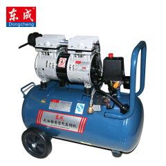 东成 750W无油静音空压机;Q1E-FF02-1824