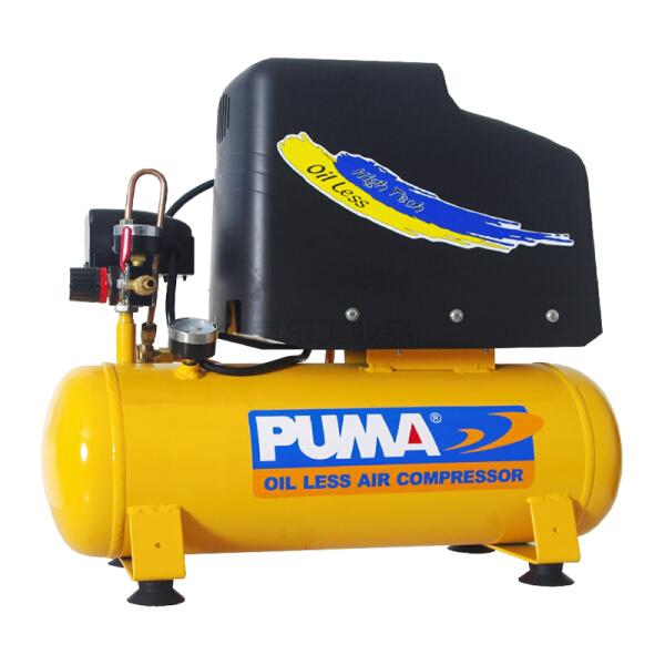 巨霸(PUMA) 空压机无油直接式(单相)0.55KW,0.028m³/min,0.8MPa;BX1012