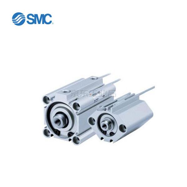 SMC 薄型气缸,标准型:单杆双作用,内置磁环;CDQ2B32-30DZ