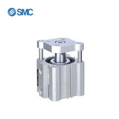 SMC 薄型气缸,带导杆,内置磁环;CDQMB20-50