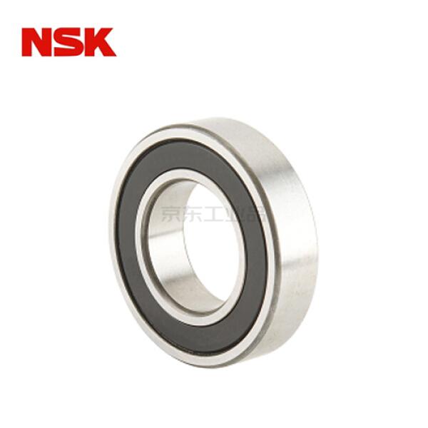 NSK(恩斯克) 单列深沟球轴承,双面非接触密封圈(胶盖),日本品【商业包装(有独立包装盒)】;6000VVC3E NS7S5