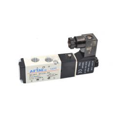 亚德客(AirTAC) 内部先导式电磁阀,2位5通,单电控,DIN插座式;4V11006B