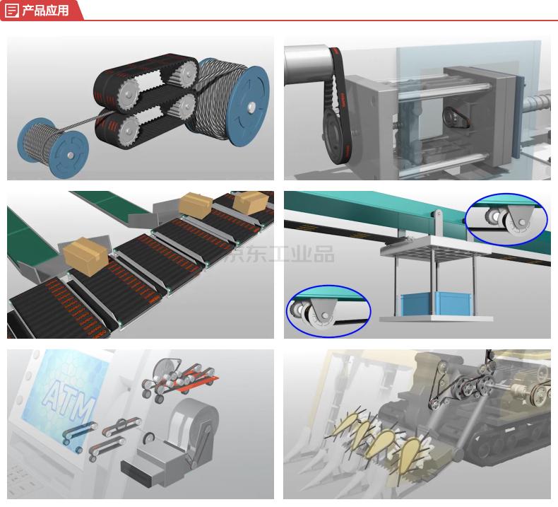 BANDO(阪东) 清洁型橡胶同步带,STS;CLEAN 40-S2M-300,齿形带,工业皮带