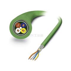 菲尼克斯 网络电缆,PROFINET CAT5(100 Mbps);VS-OE-OE-93B-100,0