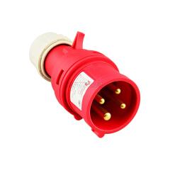德力西电气 工业用插头;DEP2-024 32A 4芯 415V