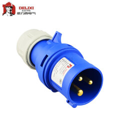 德力西电气 工业用插头;DEP2-013 16A 3芯 250V