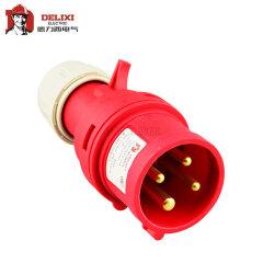 德力西电气 工业用插头;DEP2-014 16A 4芯 415V