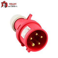 德力西电气 工业用插头;DEP2-015 16A 5芯 415V