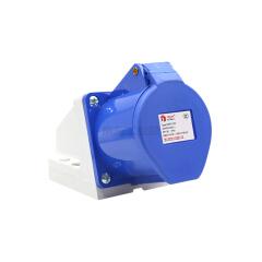 德力西电气 工业用明装插座;DEP2-123 32A 3芯 250V