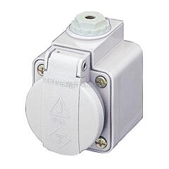 曼奈柯斯(MENNEKES) 工业插座,SCHUKO,16A2P+E,230V;10081