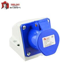 德力西电气 工业用明装插座;DEP2-113 16A 3芯 250V