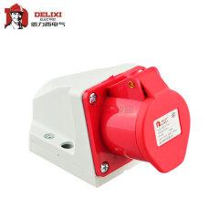 德力西电气 工业用明装插座;DEP2-114 16A 4芯 415V