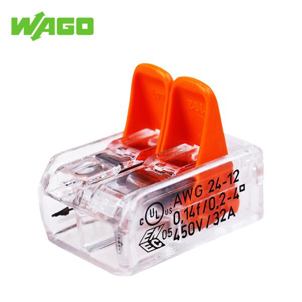 万可(WAGO) 紧凑型导线连接器;221-412