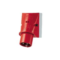 曼奈柯斯(MENNEKES) 明装工业插头,32A/3P/9H/400V/IP44;345