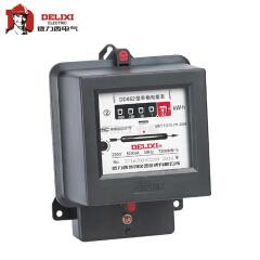 德力西电气 单相电能表;DD862 220V 15(60)A 双向