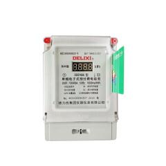 德力西电气 单相电子式预付费电能表;DDSY606 220V 1级 5(30)A