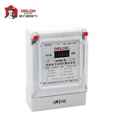 德力西电气 单相电子式预付费电能表;DDSY606 220V 1级 2.5(10)A
