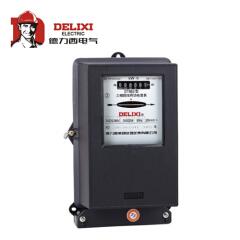 德力西电气 三相四线有功电能表;DT862 3X57.7/100V 3X1.5(6)A 互感式