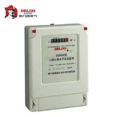 德力西电气 三相电能表;DSS606 3X380V 1级 3X3(6)A 互感式