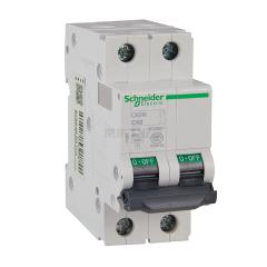 施耐德电气 C65系列小型断路器;C65N 2P C40A