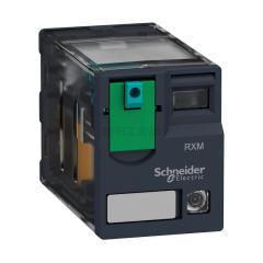 施耐德电气 插拔式中间继电器,2CO 带LED 24V DC,10个/盒;RXM2AB2BD