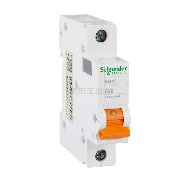 施耐德电气 小型断路器,EA9AN 1P C16A,12个/盒;EA9AN1C16