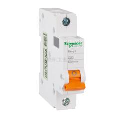施耐德电气 小型断路器,EA9AN 1P C20A;EA9AN1C20