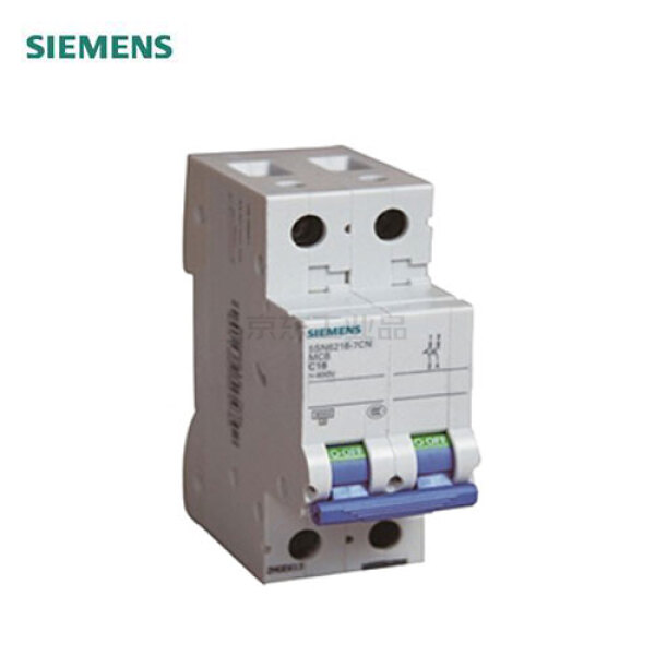西门子 微型断路器 10A 2P C 6kA;5SN62PC10