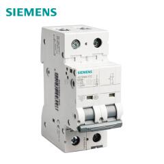 西门子 微型断路器 10A 2P C 6kA;5SY6 2P C10
