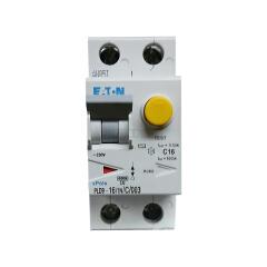 伊顿穆勒 电子式过载保护漏电断路器PLD9,16A,C,1N,30mA,AC,瞬动型;PLD9-16/1N/C/003
