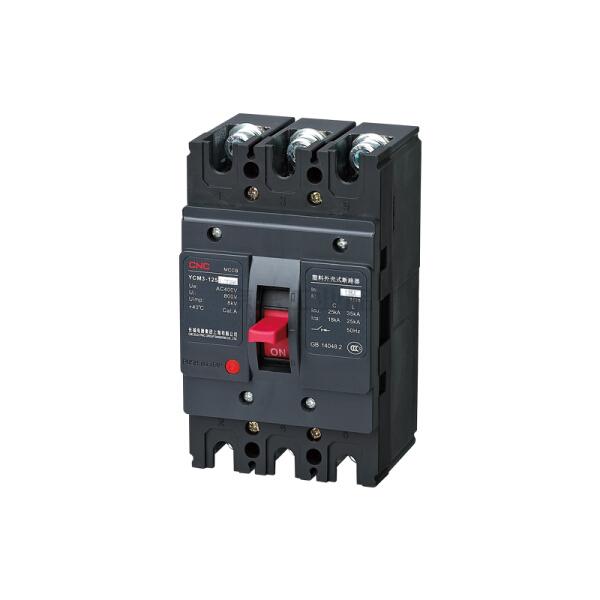 长城电器(CNC) 塑料外壳式断路器,125A,3P,100A,35kA;YCM3-125L/3300 100A