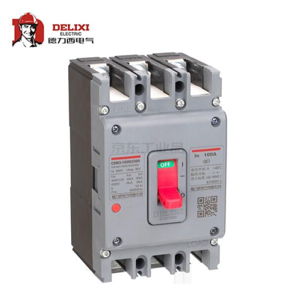 德力西电气 塑壳断路器,12个/箱;CDM3-160S/3300 160A