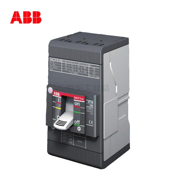 ABB 塑壳断路器;XT1N160 TMD100/1000 FFC 3P