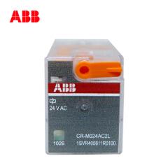 ABB 微型插拔式接口继电器;CR-M024DC2