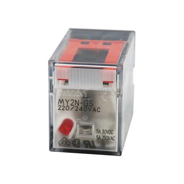 欧姆龙 微型功率继电器,10个/盒,50盒/箱;MY2N-GS DC24 BY OMZ/C