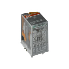 ABB 微型插拔式接口继电器;CR-M125DC3L