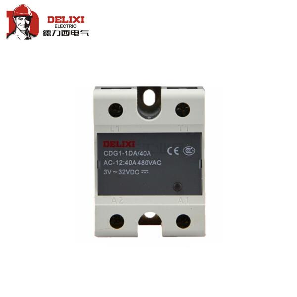 德力西电气 单相固态继电器;CDG1-1DA 40A