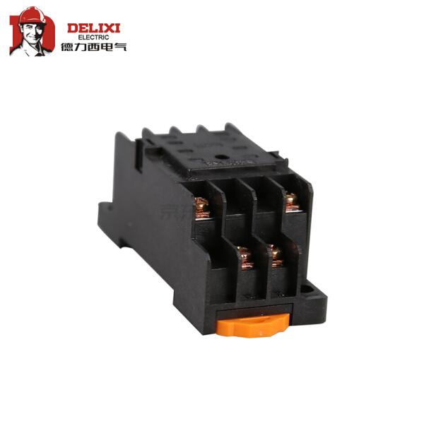 德力西电气 小型继电器 底座;CDZ9-52P 小座