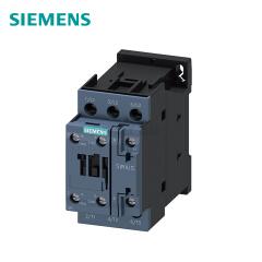 西门子 接触器220VAC50/60HZ  4kW 400V辅助触点1个常开触点+1个常闭触点,3极规格S0螺丝端子;3RT60231AN20