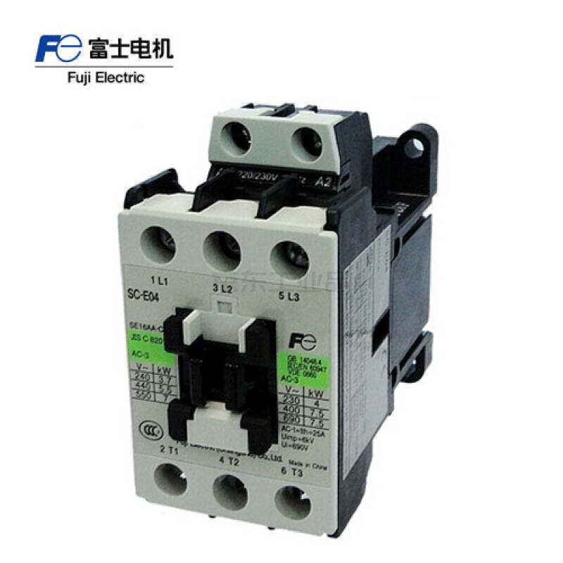富士电机 交流控制交流接触器;SC-E034-C