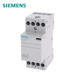 西门子 INSTA接触器带4个常开触点25A,230VAC220VDC控制电压;5TT5 25A 4NO 230AC/DC
