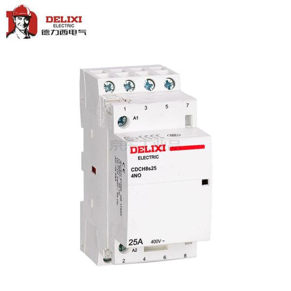 德力西电气 家用交流接触器;CDCH8s16 16A 2P 2NC 220-240V