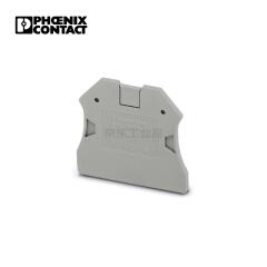 菲尼克斯 组合式端子附件,端板;D-UT2.5/10
