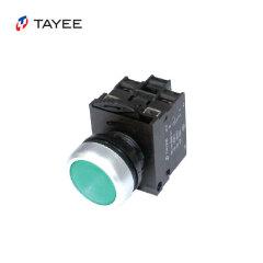 上海天逸电器 缓动型带灯按钮,绿色;LA42(A)PD-10/DC24V G
