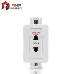 德力西电气 模数化插座;DZ47X 单相两极 10A