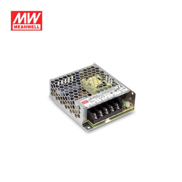 明纬 50W机壳型单组输出开关电源;LRS-50-24
